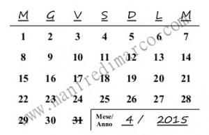 Calendario perpetuo per ogni mese_comp